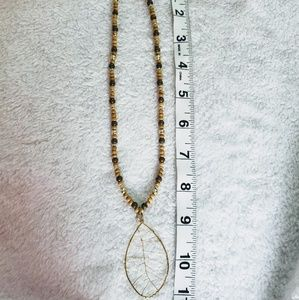 Jewelry - Handmade Set necklaces the material is bamboo